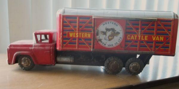 Harusamer Toy Cattle Truck