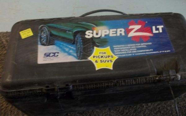 Super Z Tire Chain for SUVs and Pickups