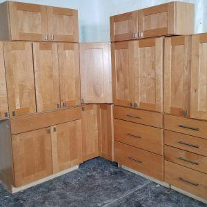 used-cabinets-shaker